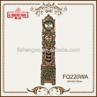 FQ220WA creative polyresin analog clock