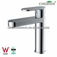Newest Design Chrome Plating Single hole basin faucet with watermark
