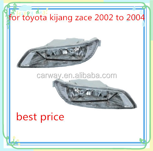 WATERPROOG FOG LIGHT FOR TOYOTA KIJANG ZACE 2002 TO 2004 PARTS