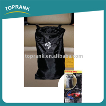 13*30CM custom logo black seat back car trash bag for cars