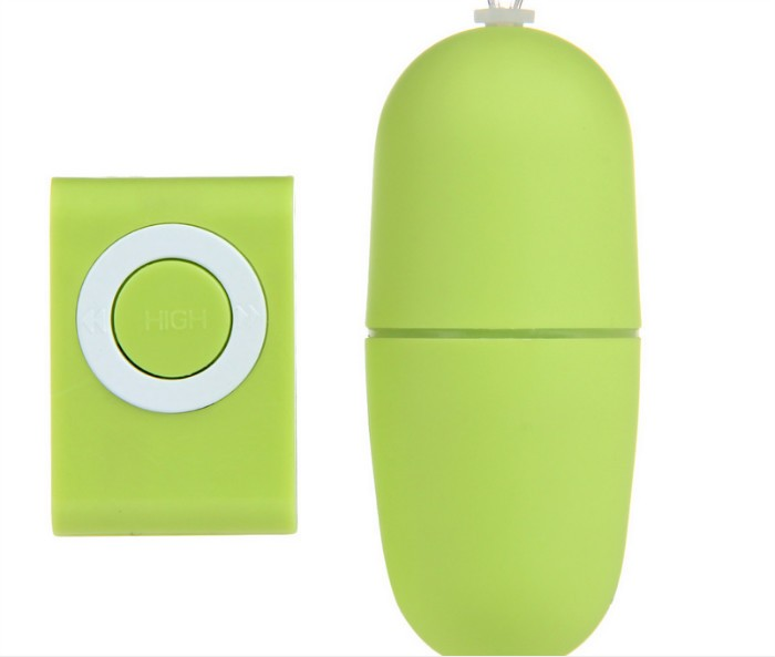 MP3 Shape Wireless Remote Vibrator Vibrating Eggs Bullet Jump Massager