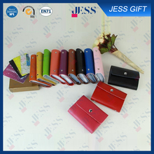 High Quality Leather Card Holder on Cheap Promotion