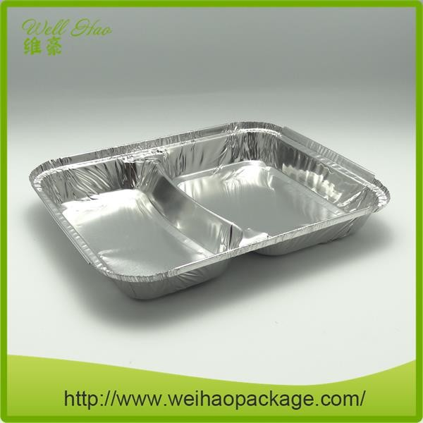 Disposable Different Shapes Aluminium Foil Meal Prep Food Container