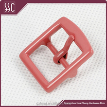 2015 China fashion pink belt buckles metal pin buckle