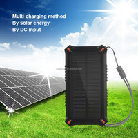 Poweradd Solar Panel Charger Apollo3 8000mAh