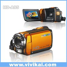 "Professional waterproof HD 1080P with 3.0"" TFT LCD screen digital video camera"