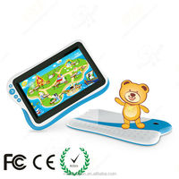 French tablet pc for kids preschool education with CE FCC ROHS certificated