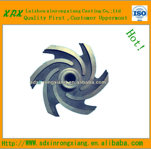 Custom sand cast grey iron/spheroidal graphite iron/ductile iron casting