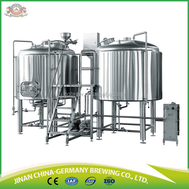 German standard beer brewing equipment of 3HL for hotel/pub
