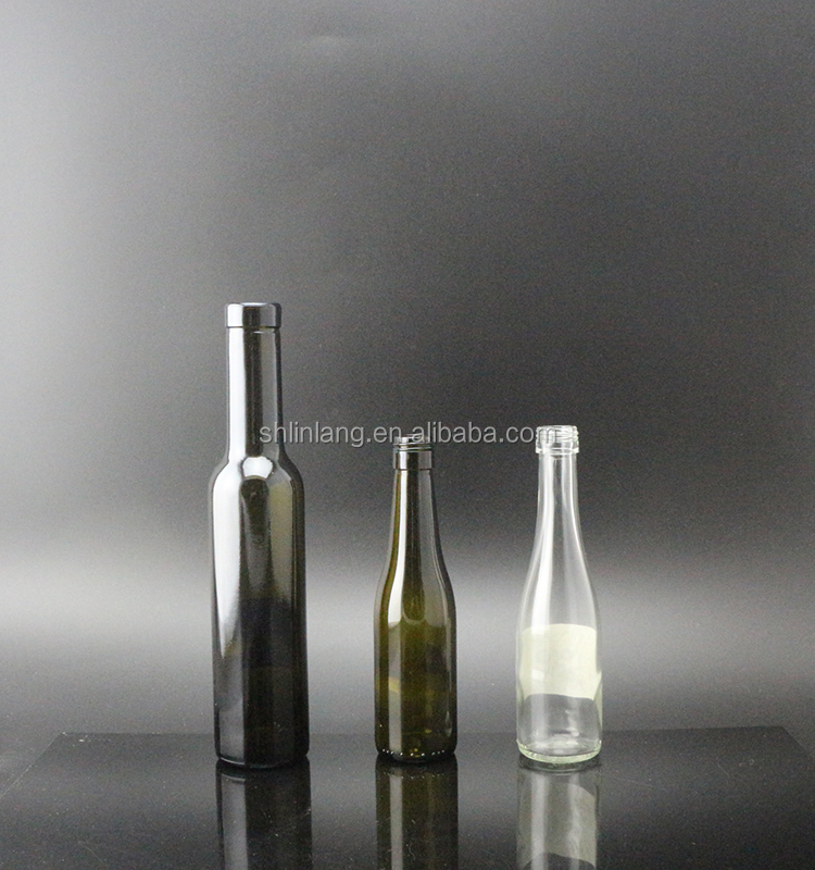 Shanghai Linlang wholesale fancy sample size red wine glass bottle