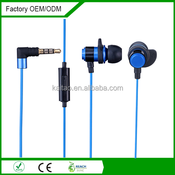 low shipping price portable earphone with mic for mobile phone for small quantity order