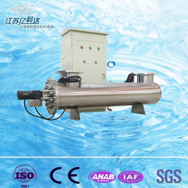 SS 304&316 housing UV lamp water disinfection sterilizer for drinking water treatment