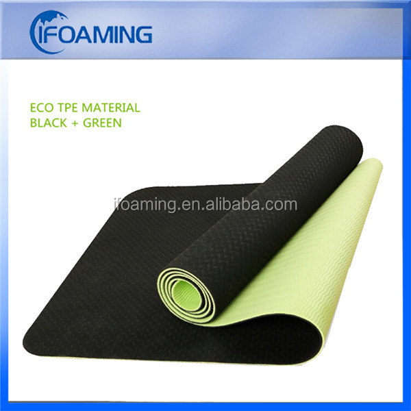 12mm 10mm extra thick tpe yoga mat with strap