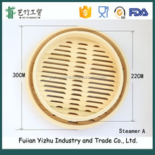 mini bamboo dumpling round portable food steamers for steam bread,dumplings,vegetables