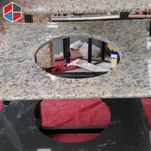 Cool utility tiger skin red granite vanity top