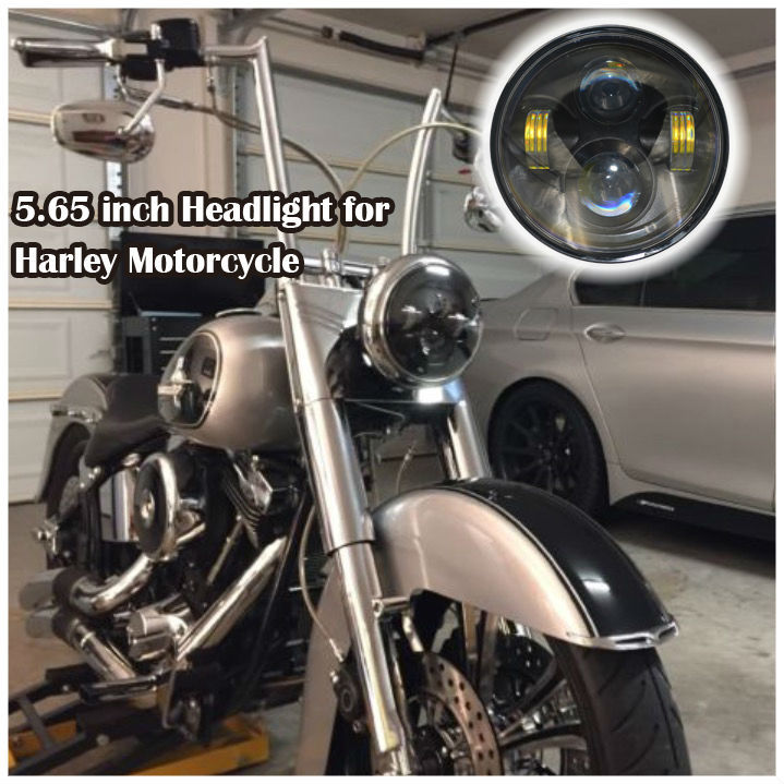 Led Harley Lights 90W H/L Dual LED Headlight Assembly For Harley Road Glide Motorcycle Headlamp