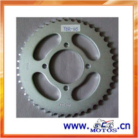 SCL-2012030810 Motorcycle Sprocket & Chain Price For YBR125 Parts