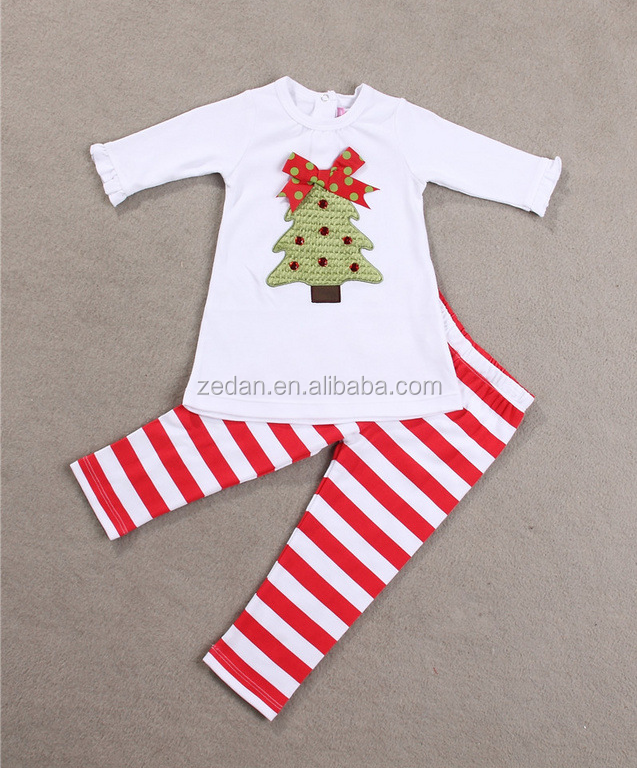 Autumn baby girls christmas clothing baby boy clothes for the baby cute cartoon printed smocked children clothing wholesale