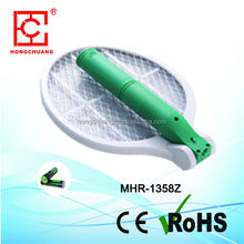 2015 New project MHR-1358Z ABS three layer net folding Raquet Zapper Big Killer swatting insects