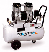 mini noise less oil free small air compressor