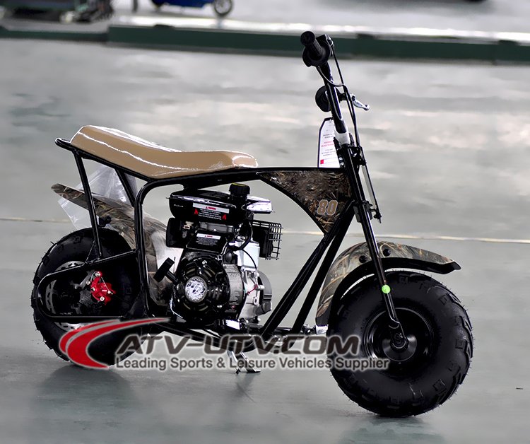 Cheap Dirt Bike 80cc Automatic Transmission Gas Scooter