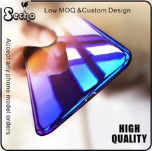 New Crafts Modern Blue Ray Light Phone Cases for iPhone 7 Case Transparent Cover Coque for iPhone 7 plus