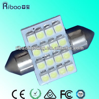 For any car base 31 / 36 / 39mm auto 12v cree car led light bulbs