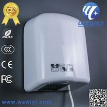 Various Material wiyi Automatic Hand Dryer Plastic & SS 304automatic Hand Dryer