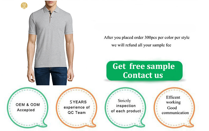 New Arrival 100% Cotton Shirts Wholesale Summer Custom Polo-shirt Men