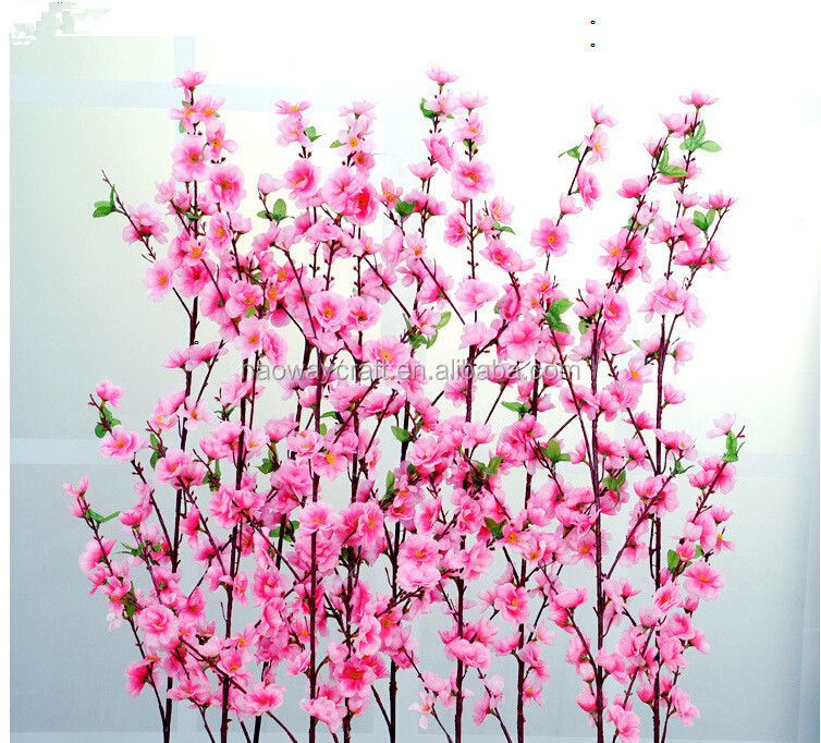 Artificial cherry blossom branches wholesale wedding decor