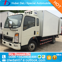 Frozen Meat and Fish Refrigerated Cold Storage Room Van Truck