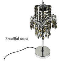 Modern bedroom decorative lights crystal