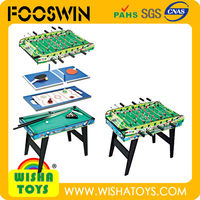 4 in 1 Football tables/Soccer tables for sale wooden babyfoot Foosball desktop game