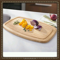 Princess House Bamboo Chef's Cutting Board New