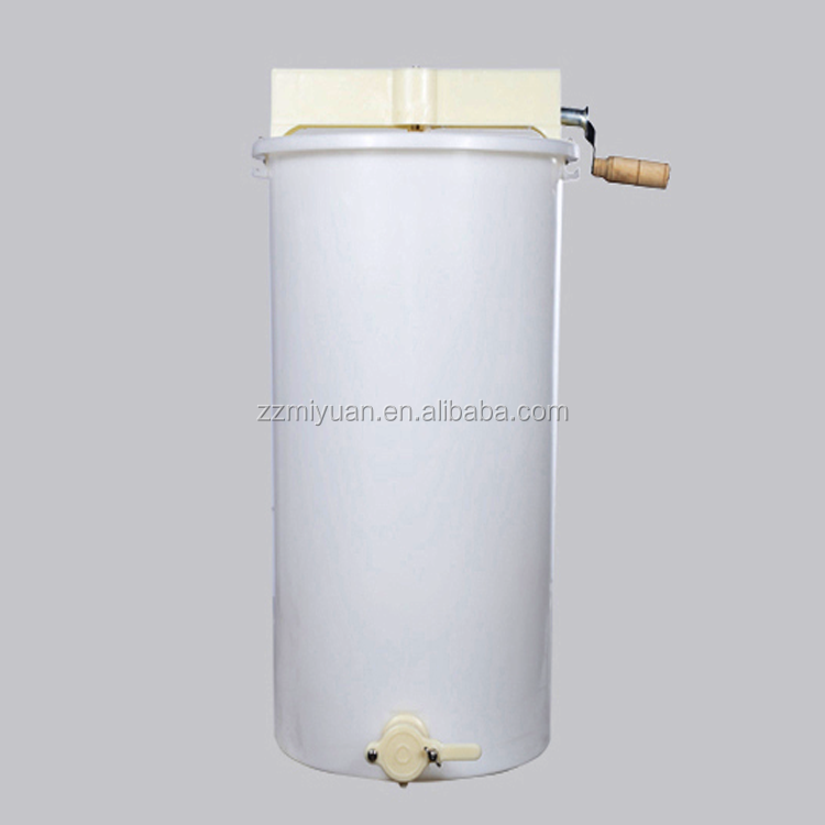 High Quality 2 Frames Manual Plastic Bee Honey Extractor For Sales