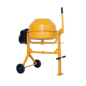 Small professional mobile vertical twin shaft concrete mixer with CE in China