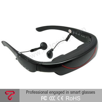 72 inch Virtual Display Portable Video Glasses VG320A 4GB 32GB TF MicroSD