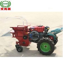 Corn harvester rice cutting machine mounted 12HP walking tractor