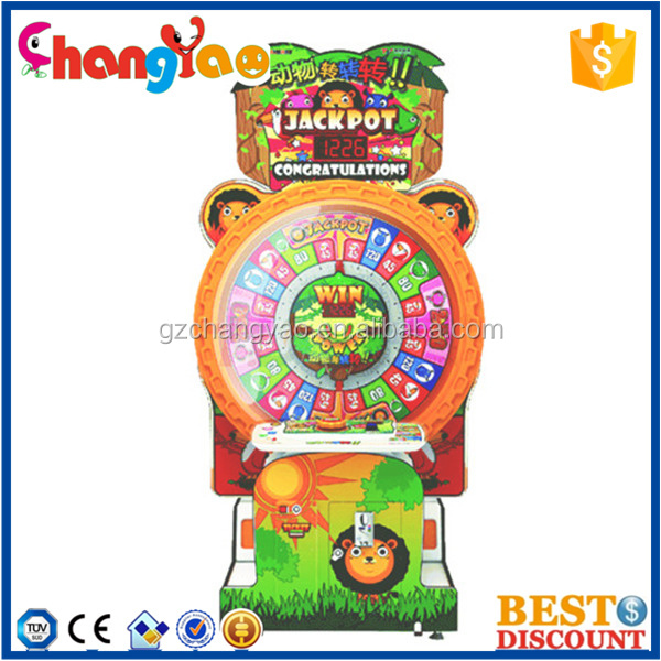Sphinx Wheel Gaming Kit Attractive Ticket Redemption Game Machine