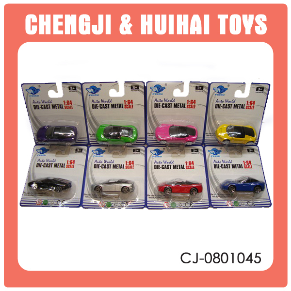 Mini slide toy 1 64 scale diecast car for kids