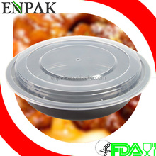 High Quality 48oz disposable pp food container microwave safe