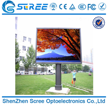 Scree smd outdoor p6 advertising led full color electric sign board