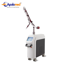 Apolomed 1064 nm 532nm Q Switched nd yag laser for tattoo removal