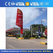 Outdoor digital LED Sign Board Price For Petrol Station