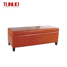 China Factory Popular Long Storage Ottoman Comfortable Bench Chair OIttoman