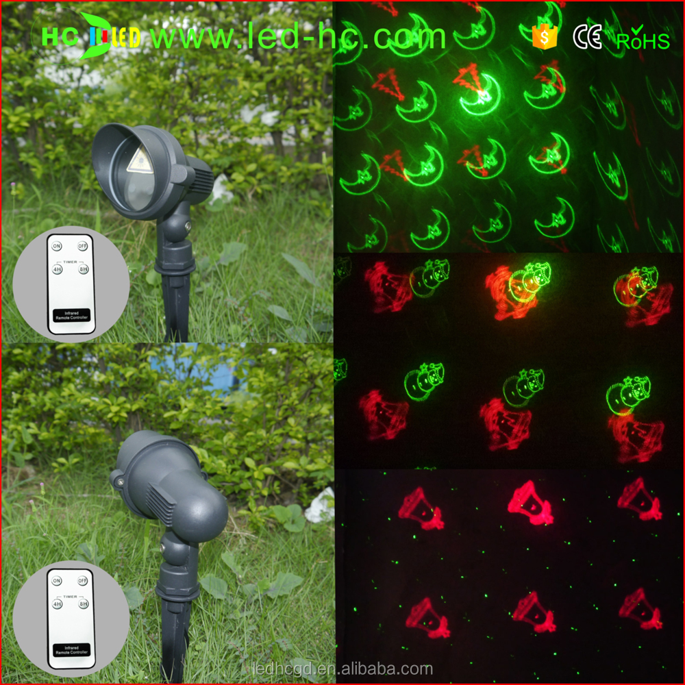 New XMAS street decoration Cheap and good laser christmas lights outdoor metal shell outdoor laser light