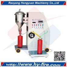 filling machine, dry powder filling machine, fire extinguisher recharge