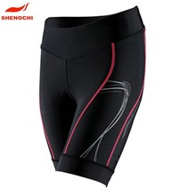 Dongguan factory high quality breathable cycling wear compression padded cycling shorts