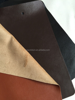 Nappa pu leather for garment suede fabric artificial garment leather