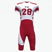 Sublimation custom american football jersey
